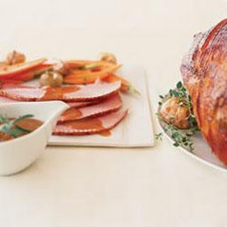 Maple Orange Glazed Ham