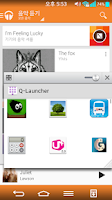 Screenshot of QSlide Launcher