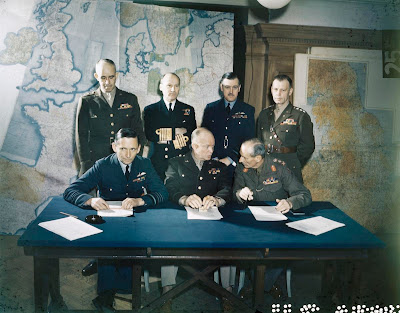 The command team, 1944