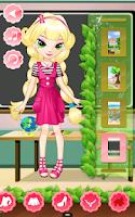 Screenshot of School Girl Dress Up
