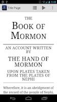 Screenshot of The Book of Mormon