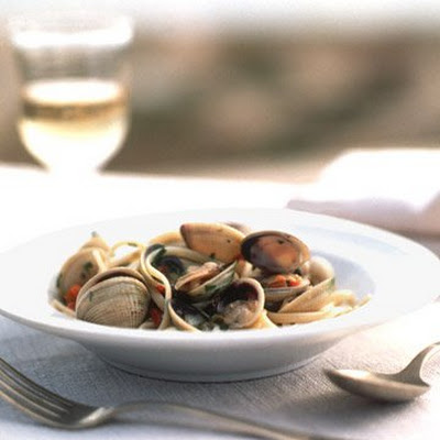 Linguine with Spicy Clam Sauce