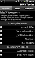 Screenshot of MW3 Tactics - Strategy Guide