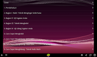 Screenshot of Rahasia Otak Super