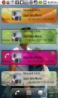 Screenshot of Missed Calls Pro