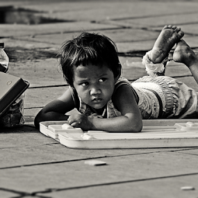 Who Wants To Play With Me by Franky Go - Babies & Children Children Candids ( child, street, children, kid )