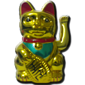 Livewallpaper big fortune cat icon