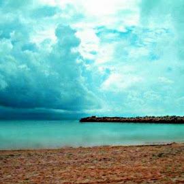 Blue heaven by Sue McNulty - Landscapes Beaches ( clouds, sand, sky, ocean, beach )
