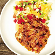 Plantain-Crusted Mahi mahi with Pineapple Salsa from 'The Catch'