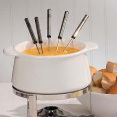 Cider Cheese Fondue
