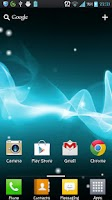 Screenshot of Xperia Tablet S LWP Free&Pro