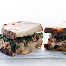 Tuscan Tuna-and-Bean Sandwiches