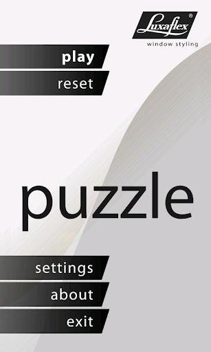 Luxaflex Puzzle