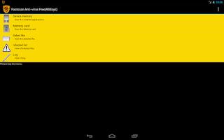 Screenshot of Fastscan free Anti-Virus