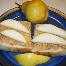 Peanut Butter and Apple Sandwich