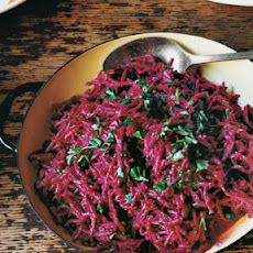 Beet and Cabbage Salads