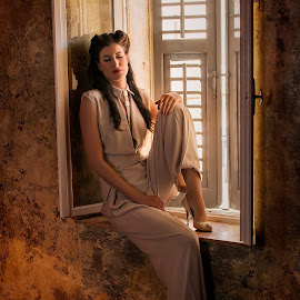 Dreaming by Antonio Stipinovic - People Fashion ( fashion, window, woman, croatia, split-croatia, arileo, sleepy, split, pjaca )