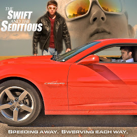 The Swift and the Seditious by Taylor Gillen - Typography Captioned Photos ( field, camaro, cars, humorous, film poster )