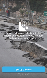 Earthquake Detector Satellite - screenshot