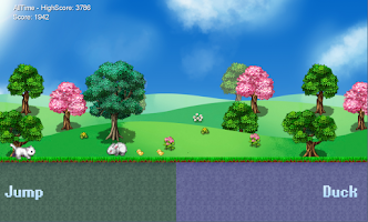 Screenshot of Cat Run