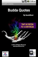Screenshot of Buddha Quotes 2012