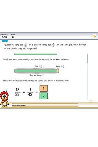 P5 Problem Sums Fractions