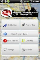 Screenshot of QikRide: Capital Metro Austin