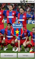 Screenshot of Steaua live wallpape