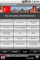 Screenshot of Talk Turkish (Free)