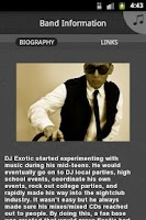 Screenshot of DJ Exotic
