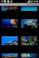 Screenshot of My Personal Aquarium Wallpaper