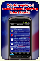 Screenshot of USA Radio - With Recording