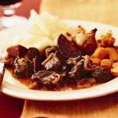 Highland Venison Casserole With Chestnuts