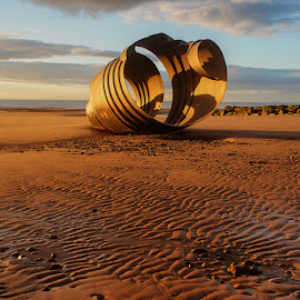 The Seashell on the shore by Bob Rawlinson - Landscapes Beaches ( bpl )