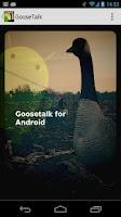 Screenshot of Goose Talk