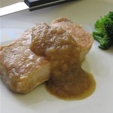 Saucy Apple Pork Chops