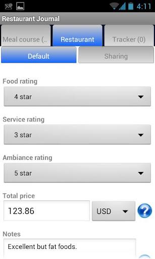 【免費商業App】Restaurant Journal-APP點子