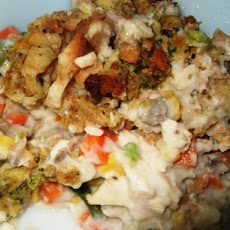 Creamy Chicken and Stove-Top Stuffing Casserole