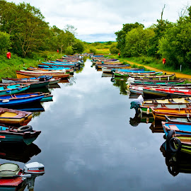 Ireland by Karina Irene - Transportation Boats ( ireland, killarney )