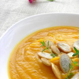 Butternut Squash Soup With Ginger And Cream Recipes