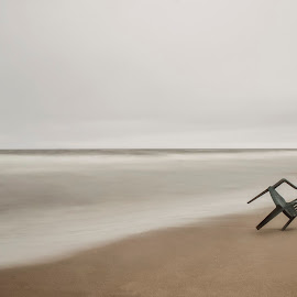 Second thought by Art Kevy - Artistic Objects Furniture ( shoes, chair, minimalism, minimal, ocean, beach, minimalist, boots, Chair, Chairs, Sitting )