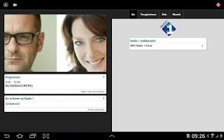 Screenshot of NPO Radio 1