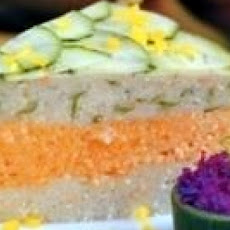 Salmon Gefilte Layered Loaf