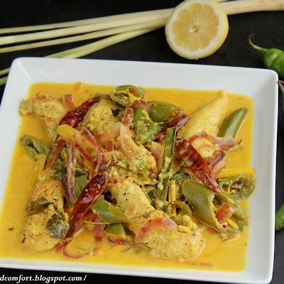 Lemongrass Chicken Curry