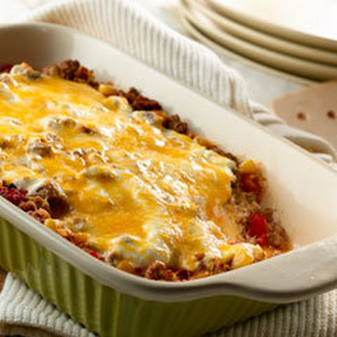 Four Cheese Enchilada Bake