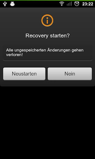 Reboot to recovery [ROOT]