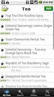 Screenshot of Tea Collection & Inventory