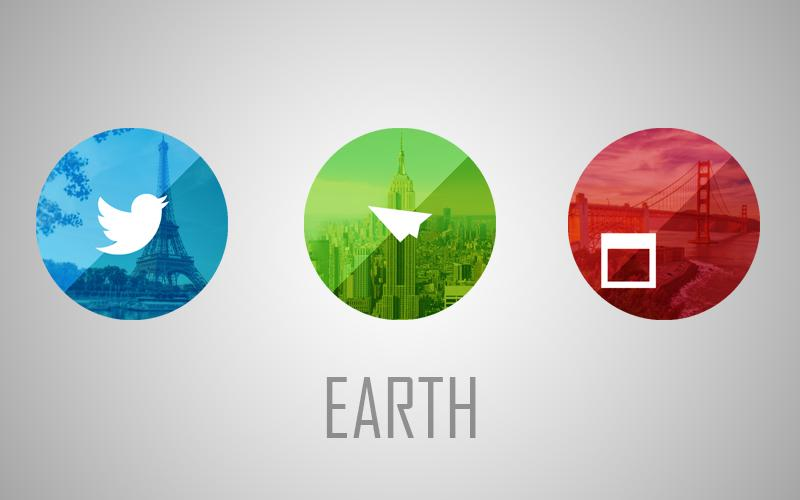 Earth - Icon Pack Screenshot 3