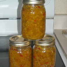 Hot & Sweet Pepper & Onion Relish