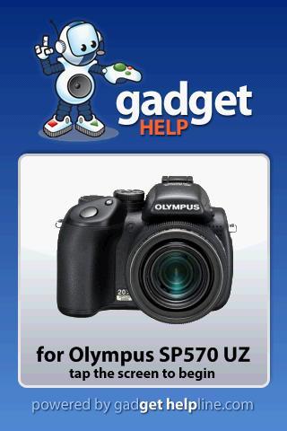 Olympus SP570 UZ - Gadget Help